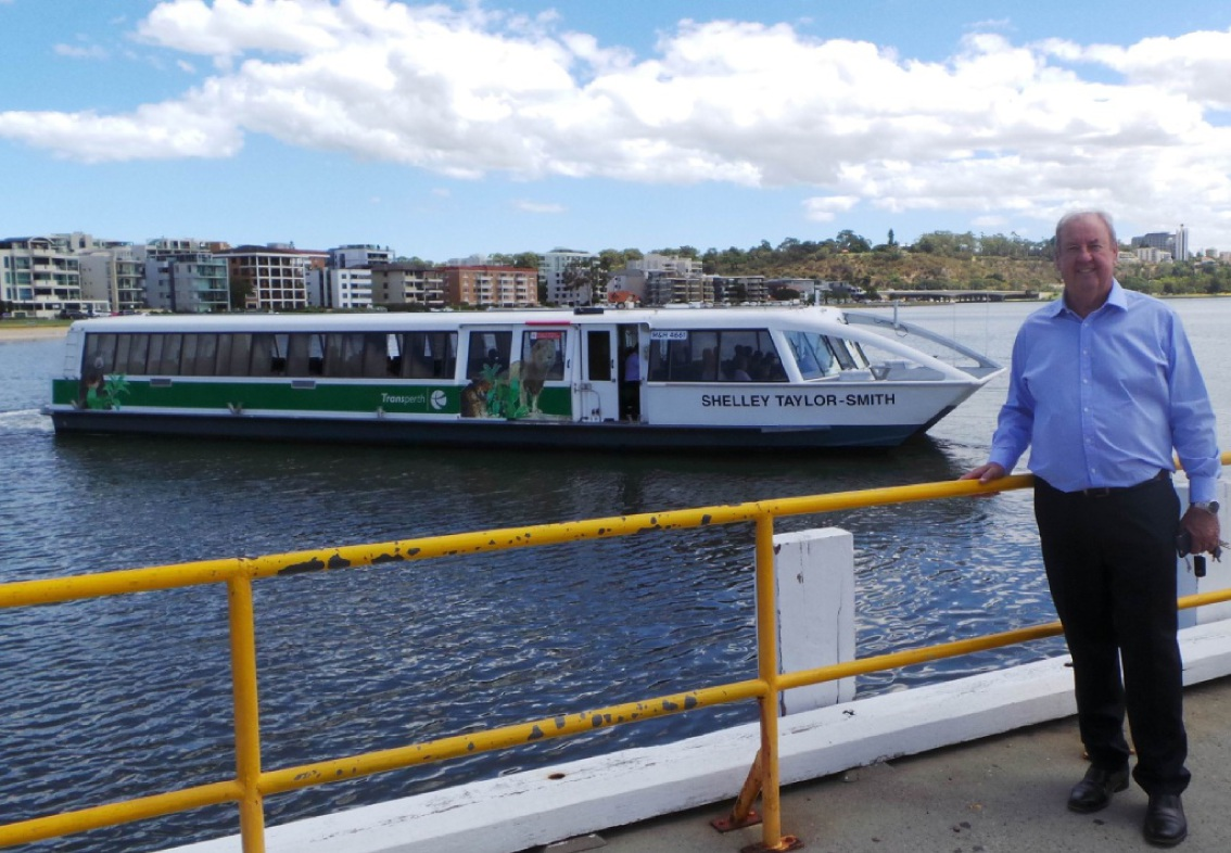 South Perth MLA John McGrath wants the Coode Street ferry reintroduced.