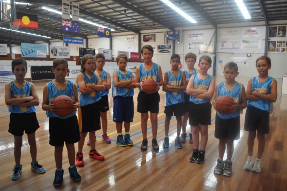 Cockburn Cougar Under-12 boys.