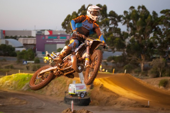 Pro Lites division winner Luke Davis. Picture: Gordon Pettigrew/True Spirit Photos