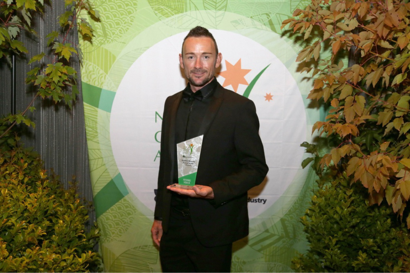 Leon Spratt has been recognised for his passion in the nursery and garden industry.