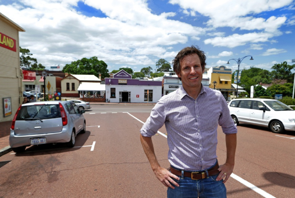 Pete Adams of Yolk Property Group. Picture: Martin Kennealey        www.communitypix.com.au   d450123
