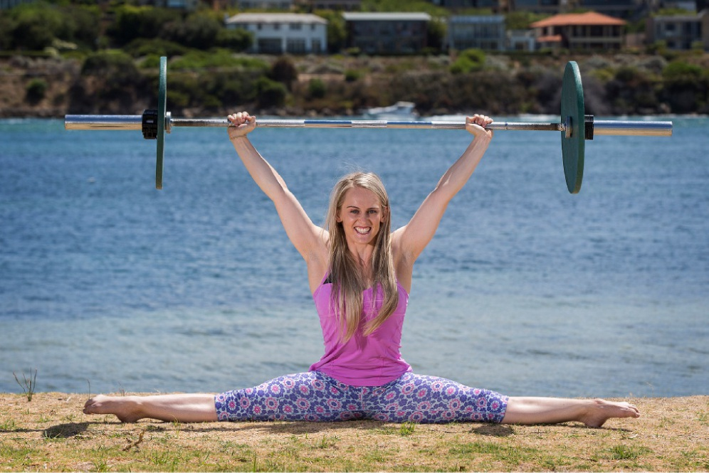Georgia Cervin will take part in the Perth Weightlifting Show. Picture: Will Russell        www.communitypix.com.au   d450051