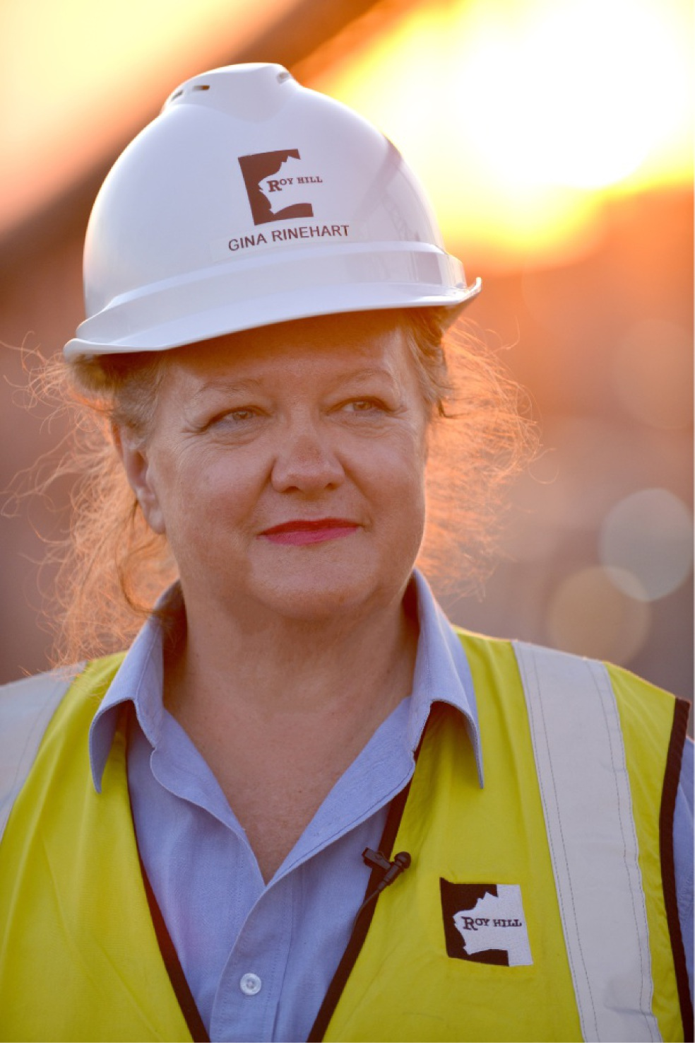 Gina Rinehart: Momentum Most Inspiring Woman of the Year.