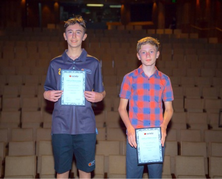 Johsua Kinghorn and Lewis Smith received Variety Scholarships.