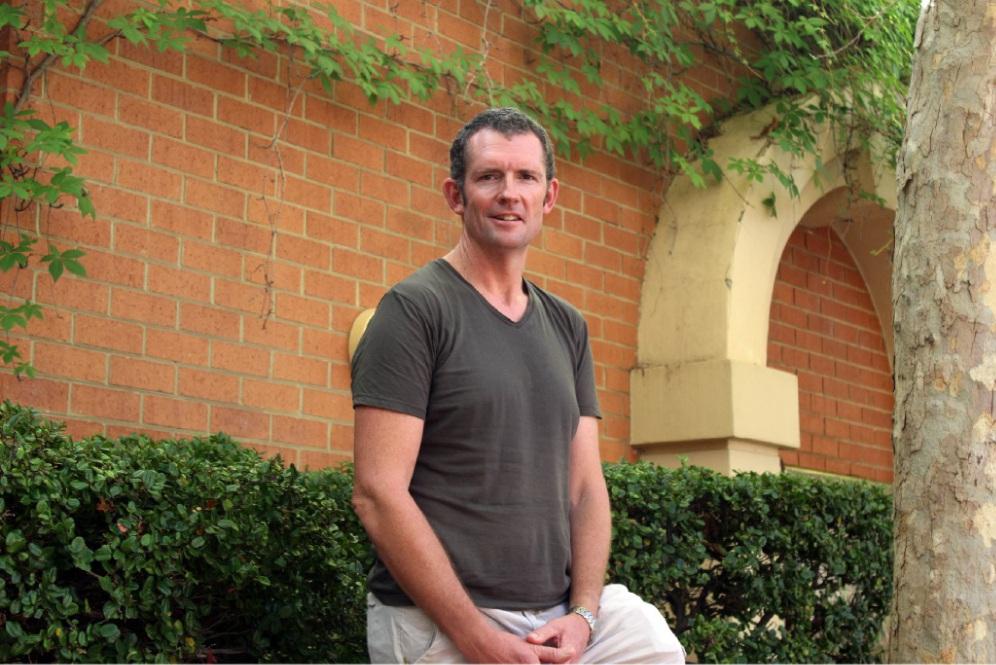 University of Notre Dame Burn Injury Research Node professor Dale Edgar.