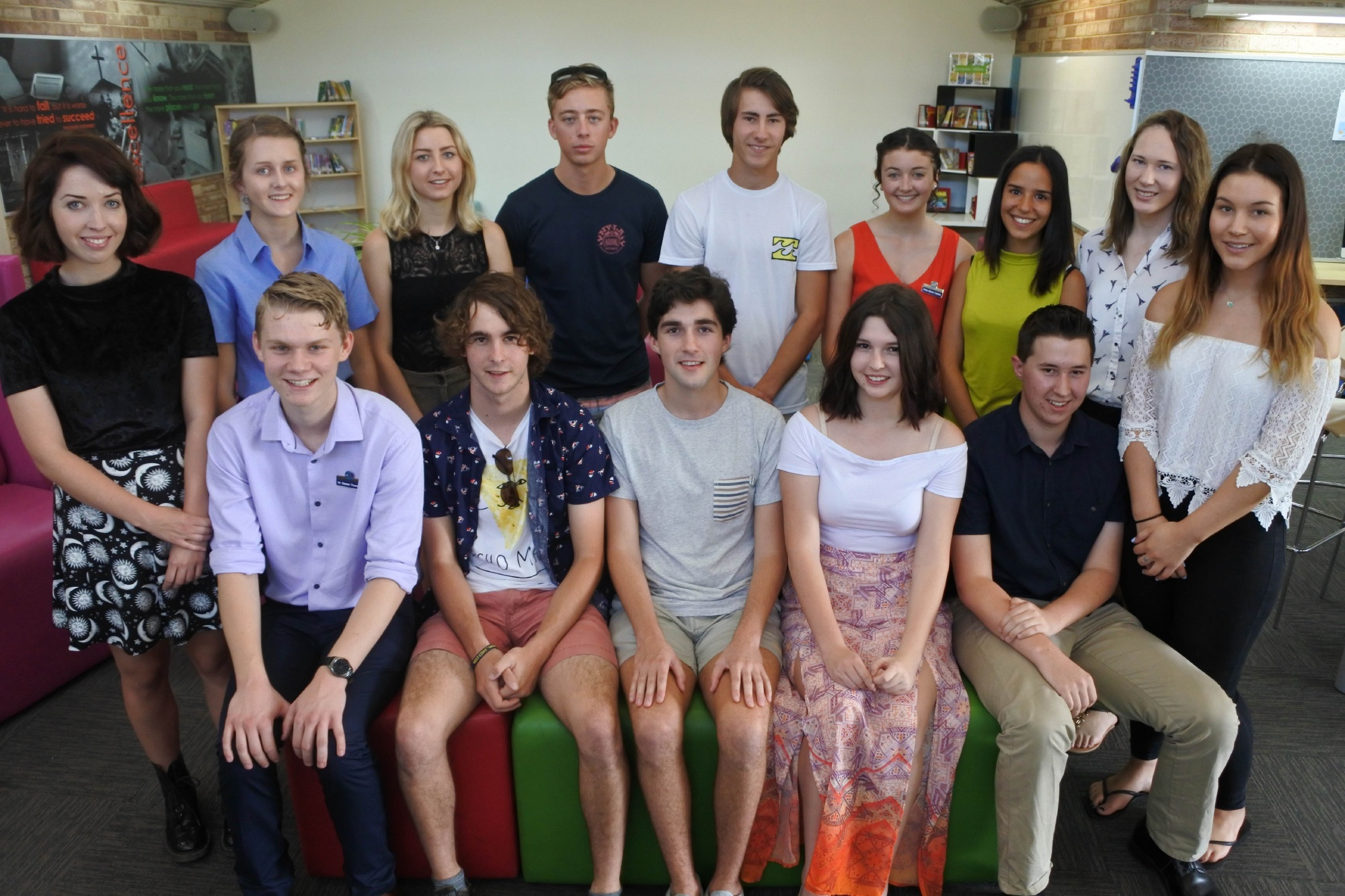 Former Kolbe Catholic College students returned to the school to share the secrets of their success.