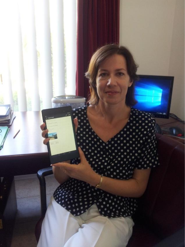 Ivone Bennett saw an opportunity to develop her Bricks Inspector app.
