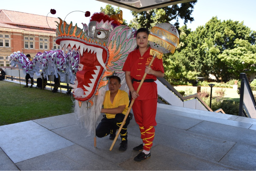 Thornlie residents Michelle Luong and Quang Quyen Luong from the Chow Kwoon Yarn Yee Tong academy.        Picture: Caitlin Tiller