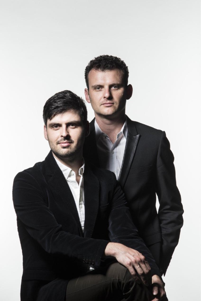 Slava (standing) and Leonard Grigoryan.