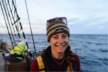 Soraya Haynes is pursuing her passion for sailing.