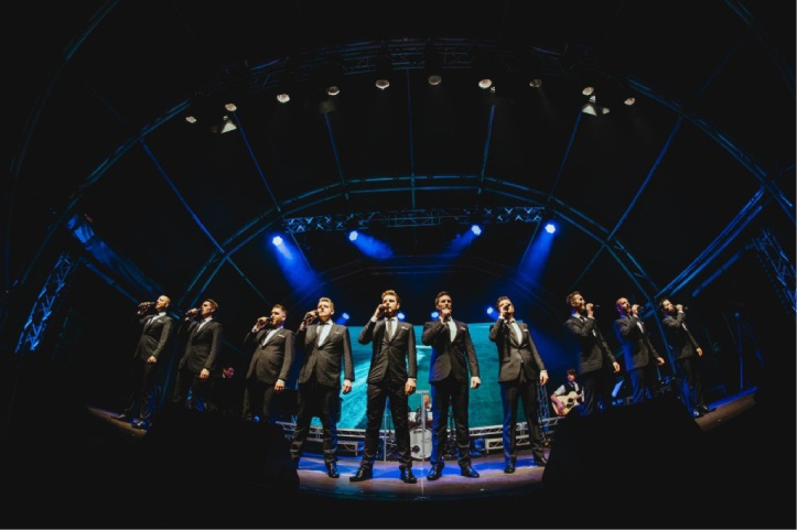 The TEN Tenors launch their new show, The Power of Ten at the Valentine's Day concert.