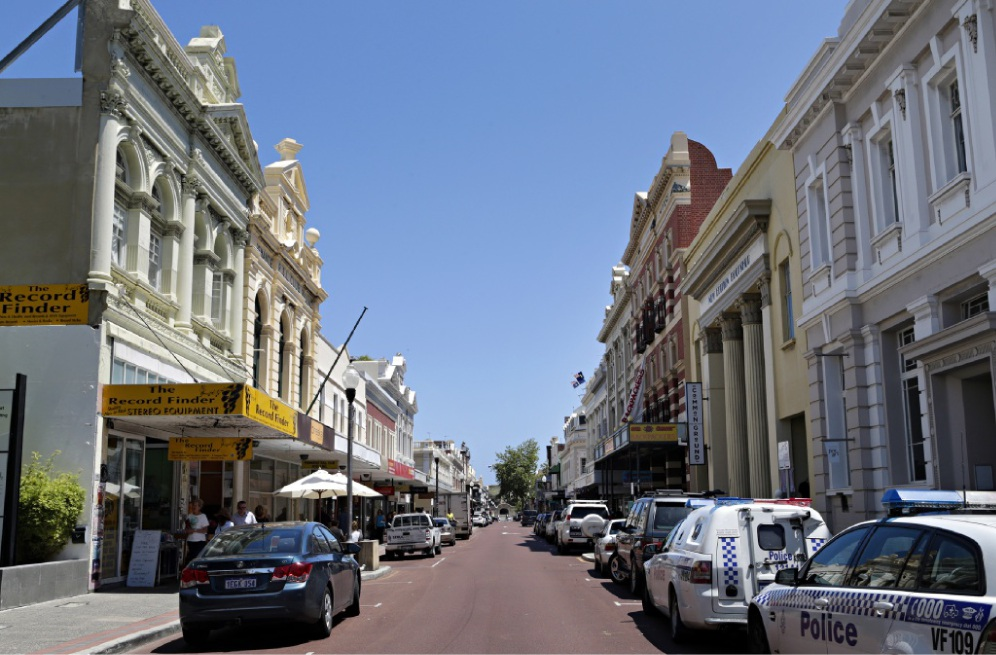 Kings Square and the Fremantle train station should be included, say heritage advocates. d427307