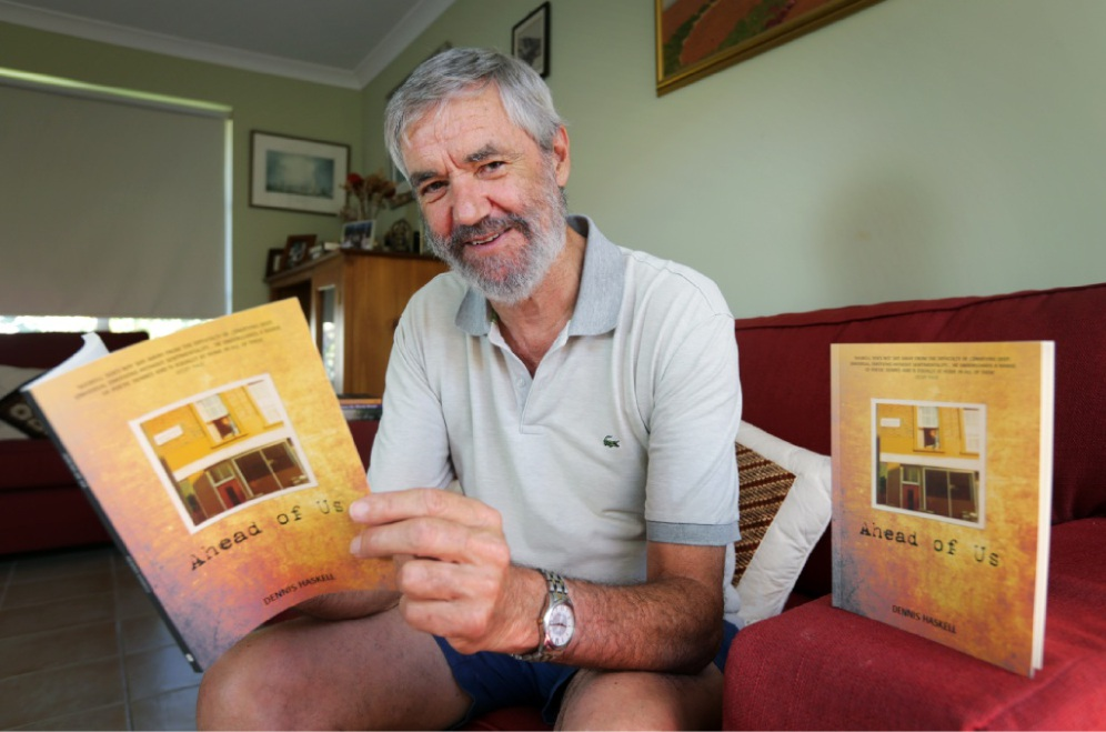 Poet Dennis Haskell's new book Ahead of Us explores the love between two people and the fragility of life. Picture: David Baylis        www.communitypix.com.au   d449037