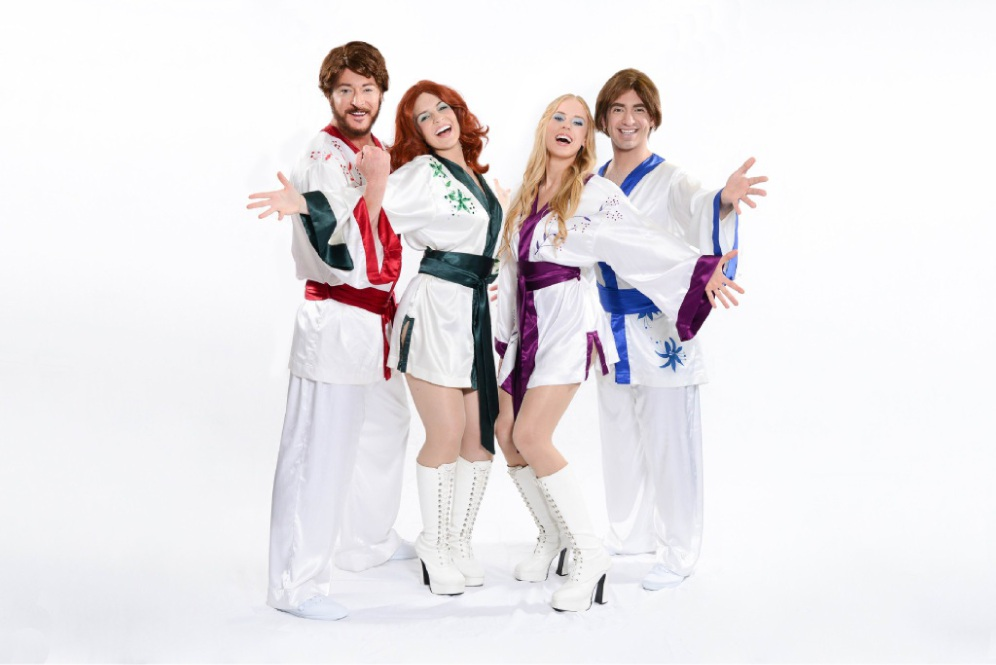 Members of Gold - The Ultimate ABBA Show, will perform Dancing Queen: The 40th Anniversary Tour.