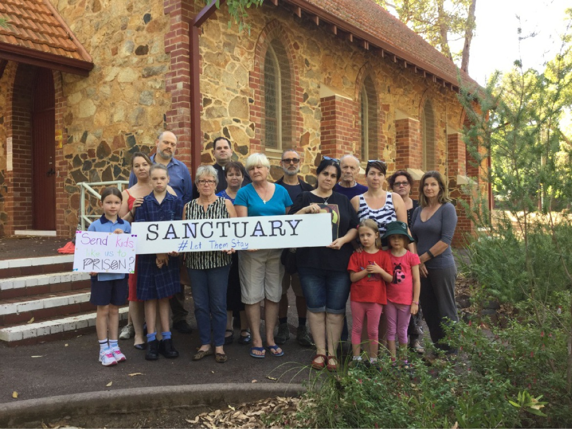 'Let them stay': Darlington church offers sanctuary to asylum seekers