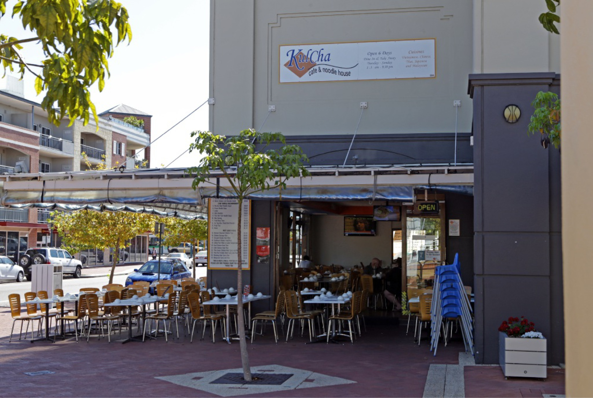"""Kulcha Cafe and Noodle House may have been the victim of an """"elaborate set-up"""", according to Joondalup Mayor Troy Pickard. d449736"""