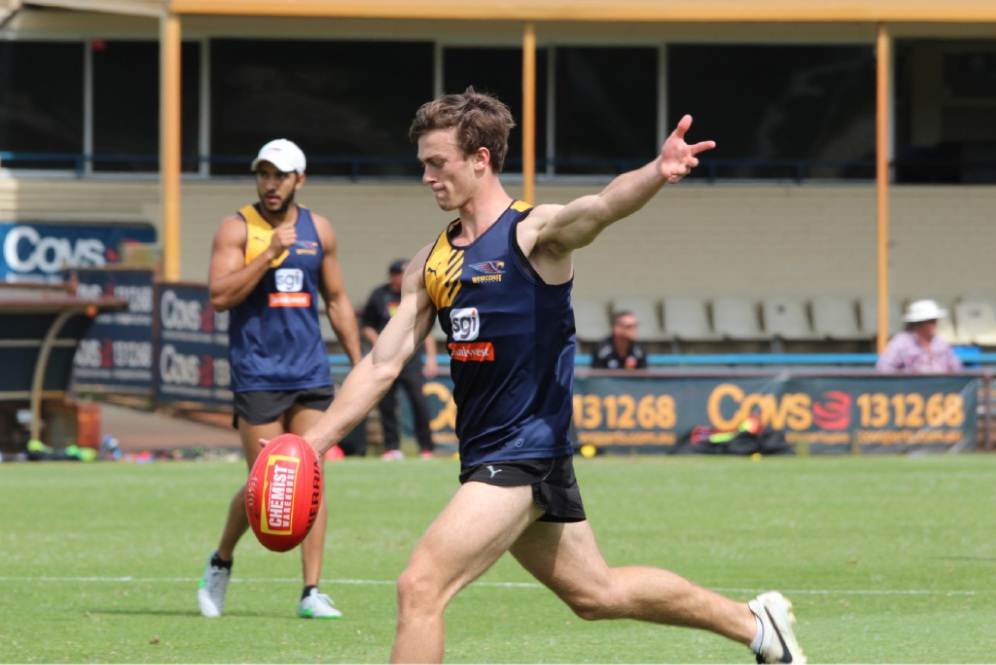 Luke Partington is feeling at home with the Eagles.