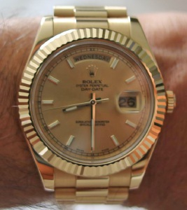 A $40,000 Rolex watch, similar to this one, was stolen from a Marmion home.