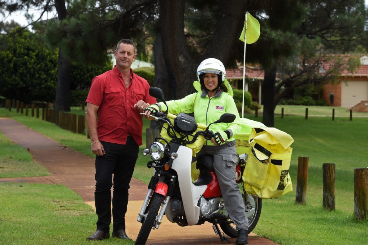 Craig and Adele Ebbett plan to ride to raise funds for sick children later this year.Picture: Jon Hewson        www.communitypix.com.au d449295