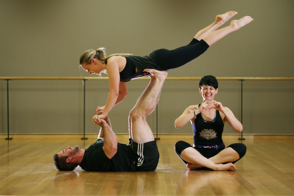 Power Dating Yoga a flexible twist on an old game