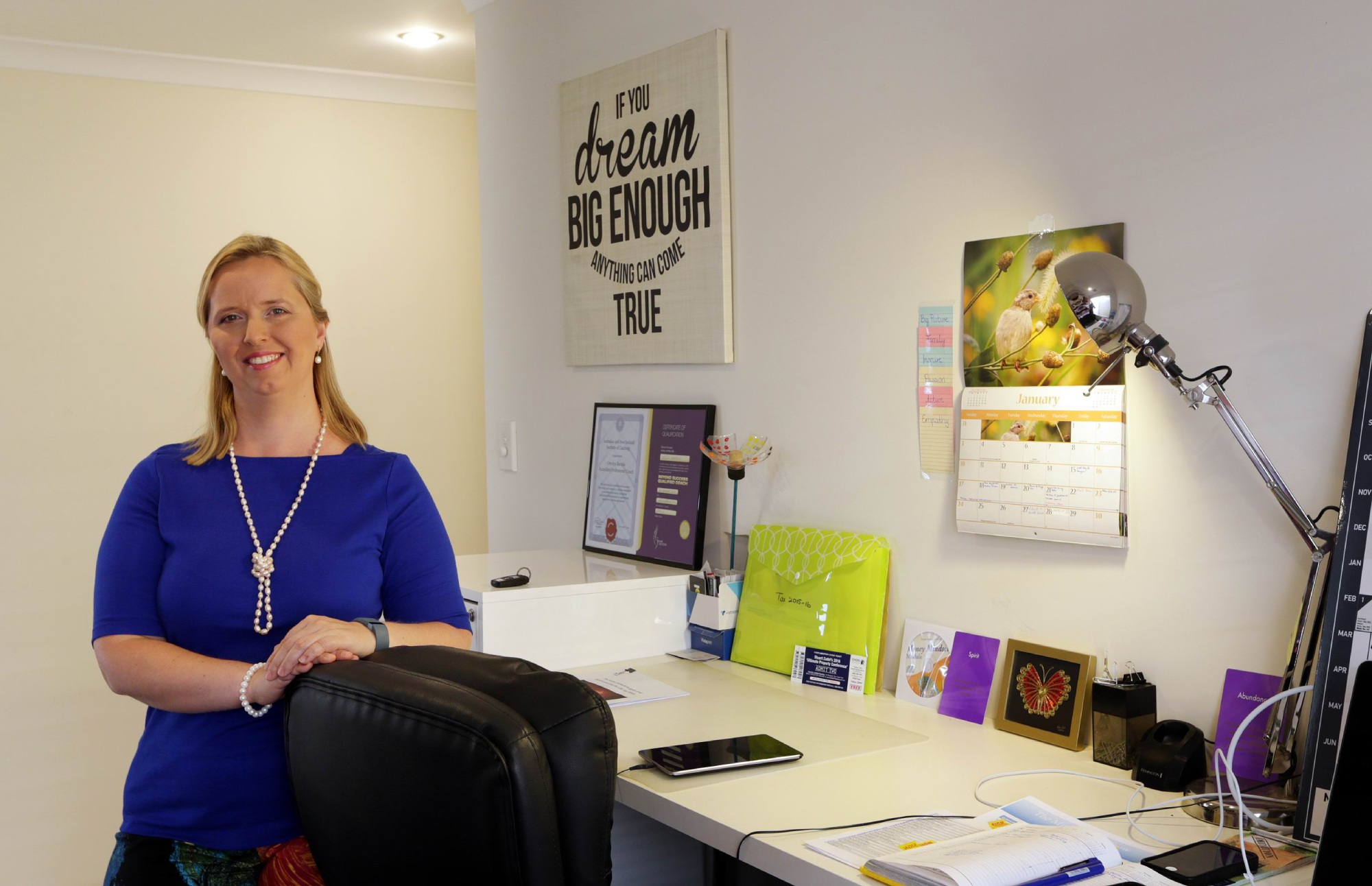 Orsolya Bartalis has started work as a life coach. |Picture: Martin Kennealey www.communitypix.com.au d449523