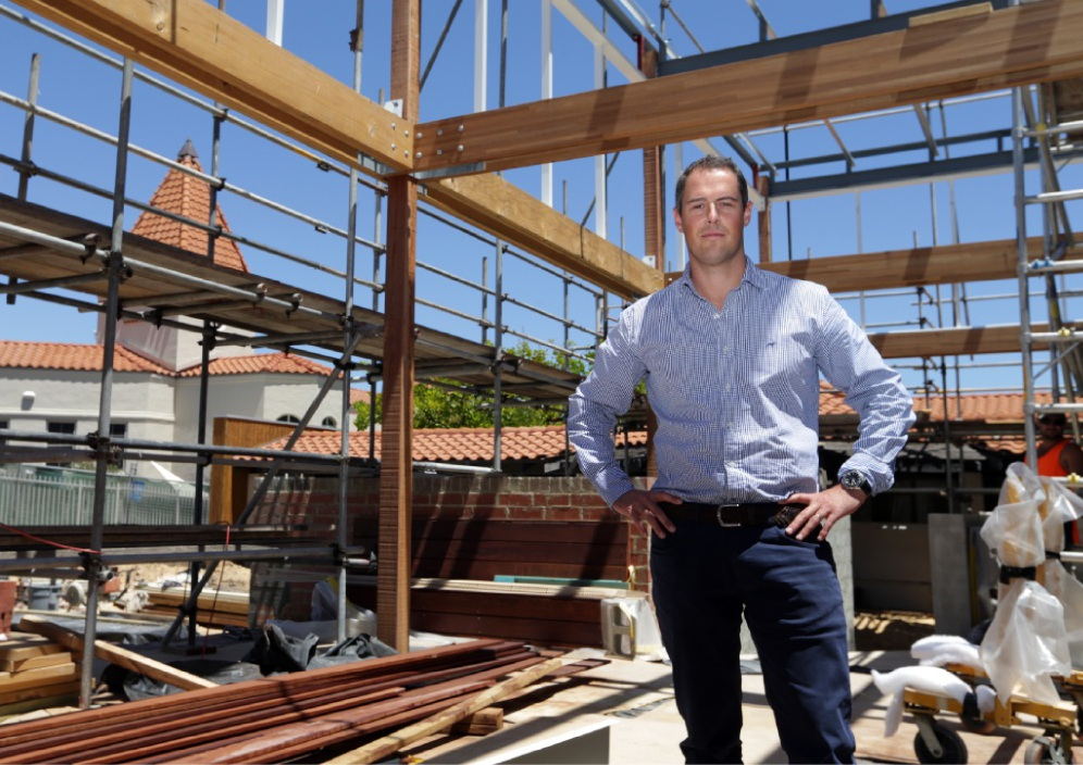 Mindarie Marina hospitality general manager Andrew McGie is overseeing the $5 million |redevelopment.  Picture: Martin Kennealey         www.communitypix.com.au   d449361