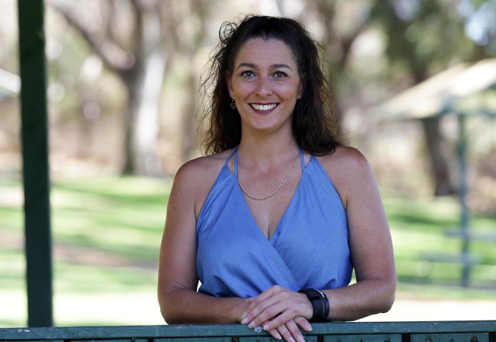 Survivor Foundation CEO Samantha McClymans.  Picture: Martin Kennealey    d449478