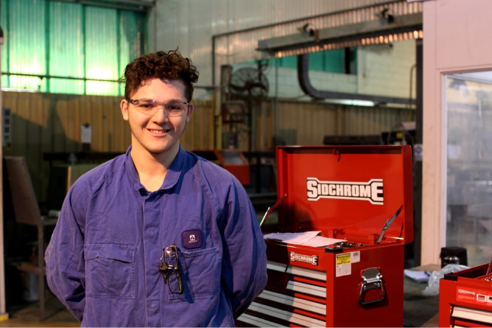 Lucaan eyes trade as a mechanical fitter