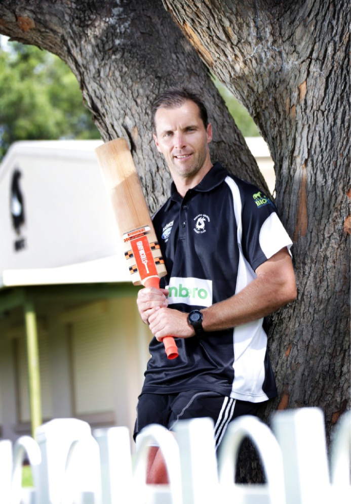 Midland-Guildford first grade cricket captain Stewart Walters.