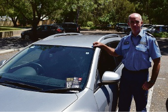 Don't leave valuables in cars and park in well-lit areas, say police.