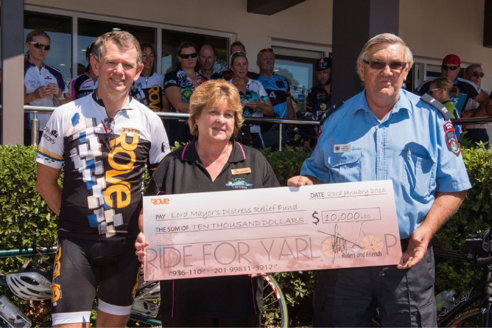 Cyclists join campaign
