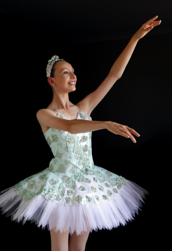 Ballet dancer Leisel Rose. Picture: Martin Kennealey  d447415