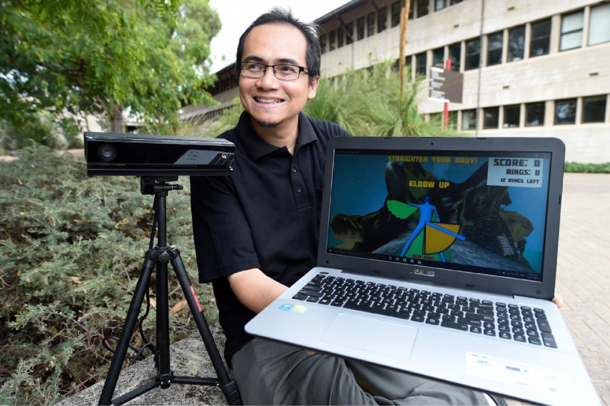 Murdoch University lecturer Fairuz Shiratuddin. Picture: Jon Hewson         d448381