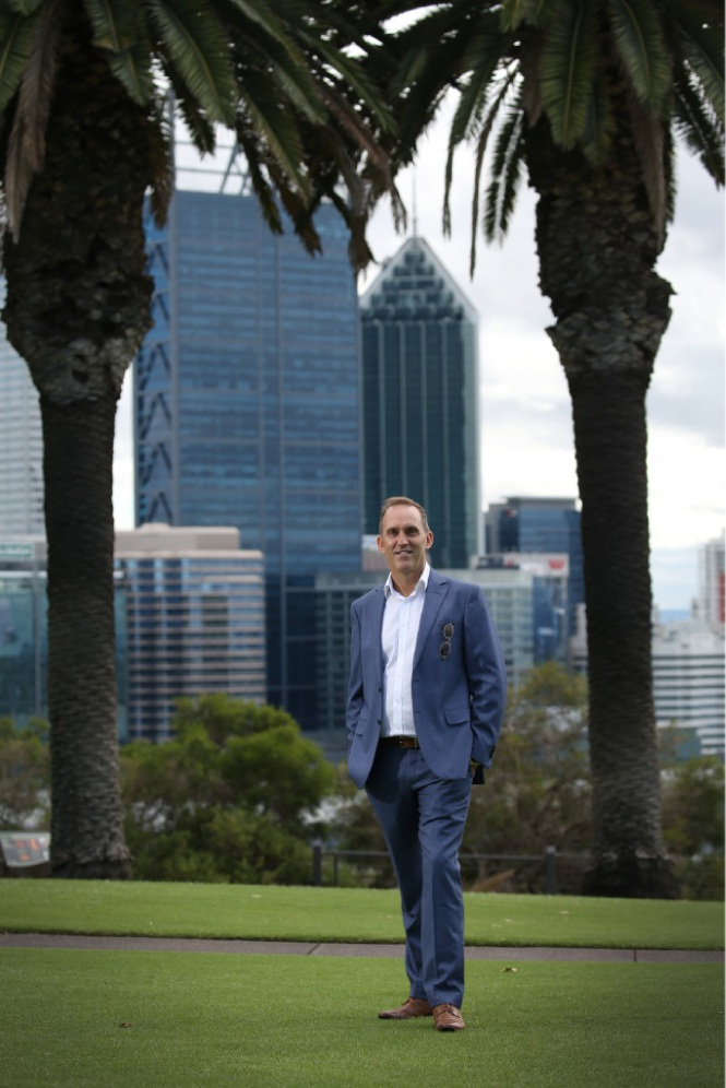 Steven Roth is taking up his post as executive director of the Scottish National Ballet after nine years with WA Ballet. Picture: Andrew Ritchie www.communitypix.com.au   d448737