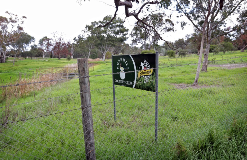 The site of the former Rosehill Golf Course. d439529