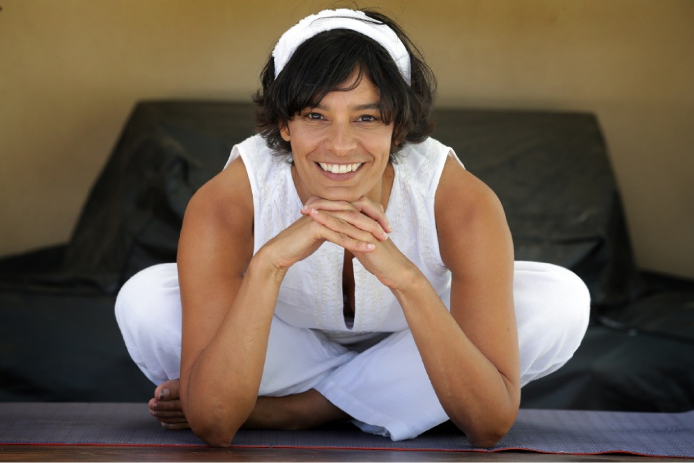 Julie Hannah is holding sessions teaching Kundalini yoga. |Picture: Martin Kennealey www.communitypix.com.au d449205