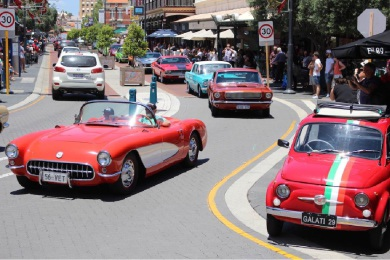 The Freo Charity Car Cruise test run in November proved a big success.