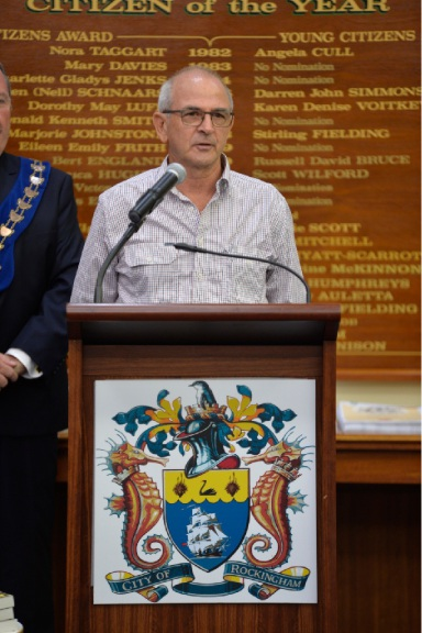 Grahame Niven has been a charter member of Baldivis Lions Club since 1984.