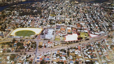The land in Bassendean that has been earmarked for development.