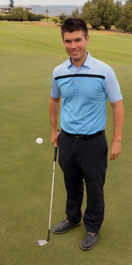 Sea View Golf Club's new head professional, Tristan McCallum.
