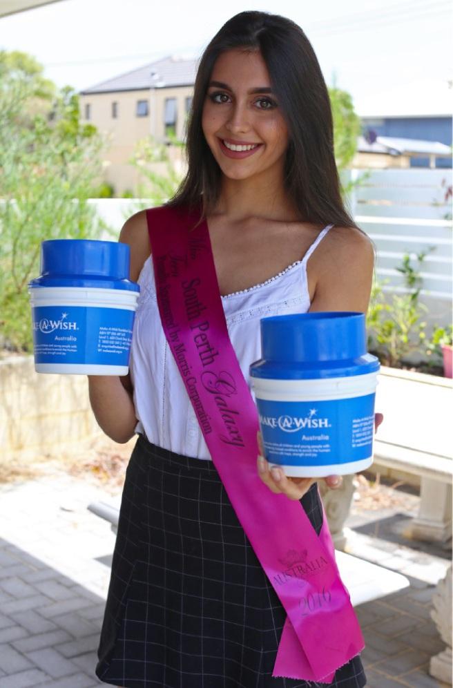 Miss Teen South Perth Galaxy Jenayah Elliot. Picture: Matt Jelonek    d448825