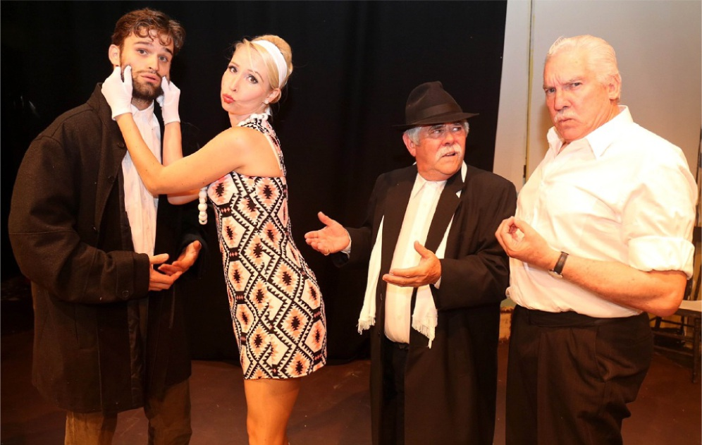Andre Balzelli, Berti Moso, Rex Gray and Atwell resident Kim Taylor star in the sequel to Perth playwright Noel O'Neill's hit It's All Greek To Me, It's All Greek To Me Too.