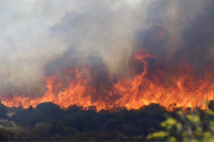 Jindalee fire suspicious