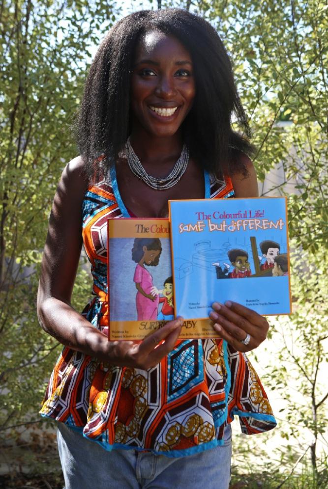 Naomi Kissiedu-Green has published two new books. Picture: Matt Jelonek www.communitypix.com.au   d448241