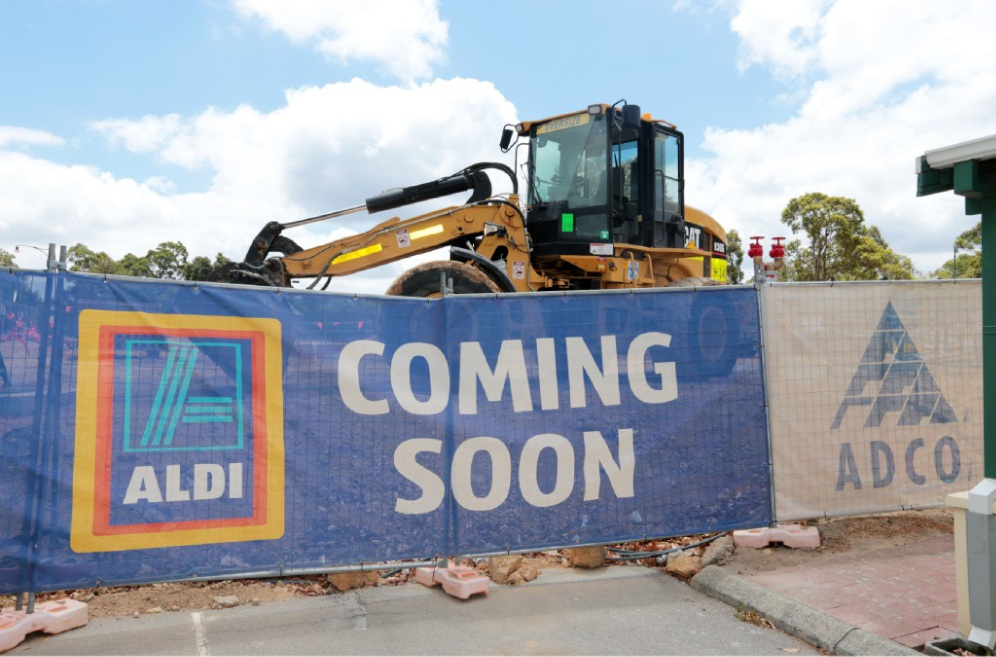 Aldi is planning 11 new store openings before the year's end. Picture: David Baylis       d448615