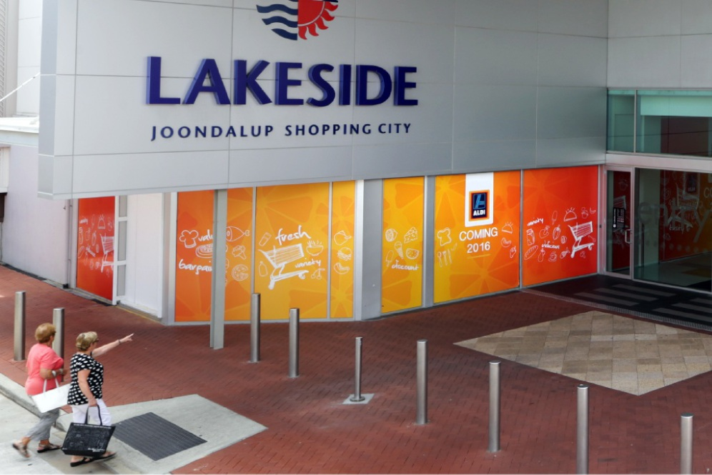 Aldi is set to open at Lakeside Joondalup shopping centre.