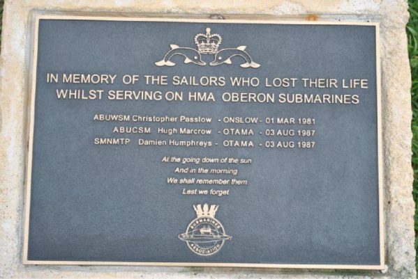 The memorial plaques marked efforts and sacrifices of Australian naval personnel. Pictures: Rockingham Navy Club