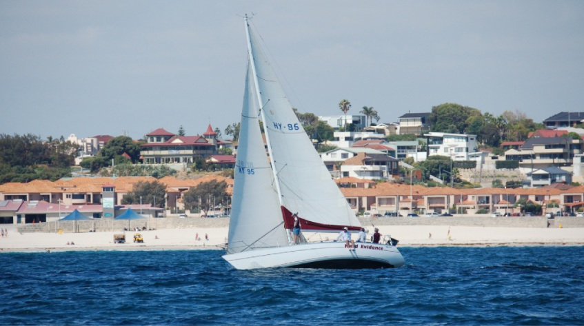 Hard Evidence on her way to a win in division one off Sorrento.