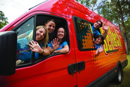 The Scitech bus is rolling into Northam with a host of science fun activities. Picture courtesy of Scitech.