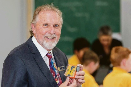 Rostrata Primary School science teacher Richard Johnson has been nominated for a global award.